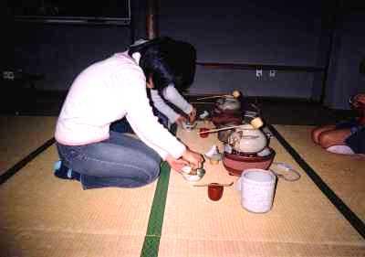 奈良市伝統文化こども茶道教室